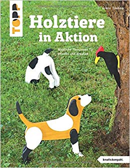 Holztiere in Aktion